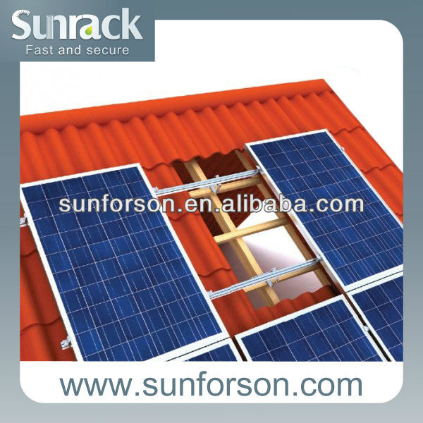 pitched roof solar panel mounting brackets tile