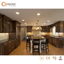 2015 FOSHAN Candany solid wood particle board kitchen cabinet,kitchen cabinet door trim