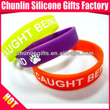 2017 promotional gifts lovely printed silicone wristband