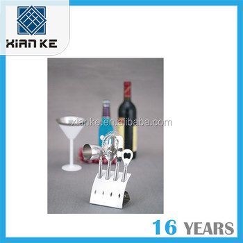 High quality Premium Stainless Steel bar set wine bar set