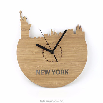 ECO -FRIENDLY EXPRESS shipping ART WALL CLOCK