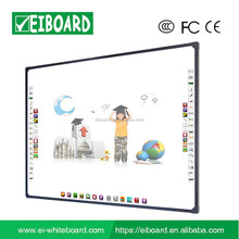82 inch multi-touch no projector touch screen smart interactive whiteboard