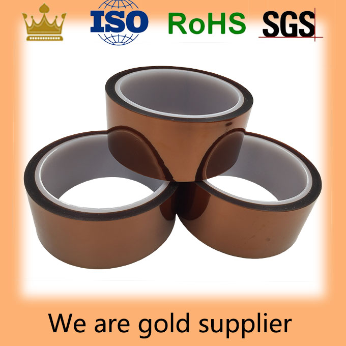 Shanghai 260C High Temperatue Protective PI Polyimide Adhesive Film Tape Manufacturer in China