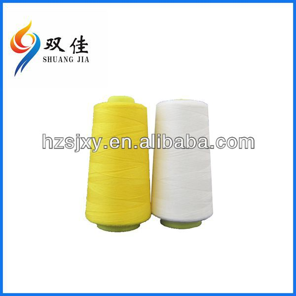 low shrinkage shiny 210d/3 100% polyester embroidery thread