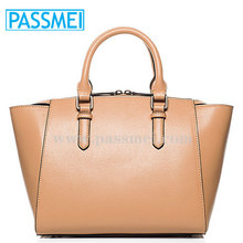 Branded brown women handbag bags in china