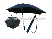 Promotional manual open backpack bike umbrella
