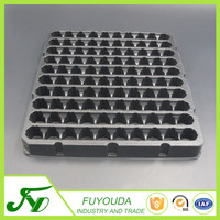 2015 new design various of black plastic blister electronic tray