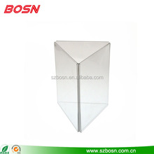 tree side acrylic menu display stand acrylic menu holder table menu display
