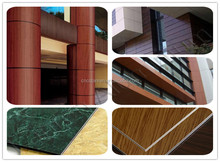 Best Selling Single/Double PE(Polyester)/PVDF Coating Aluminum composite panel