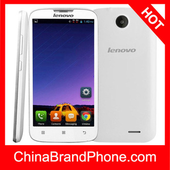 Lenovo A560 4GB White, 5.0 inch 3G Android 4.3 Phablet, Qualcomm MSM 8212 Cortex A7 1.2GHz Quad Core , RAM: 512MB, WCDMA & GSM,