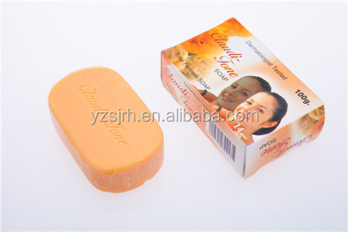 100g paper box packed women toilet soap