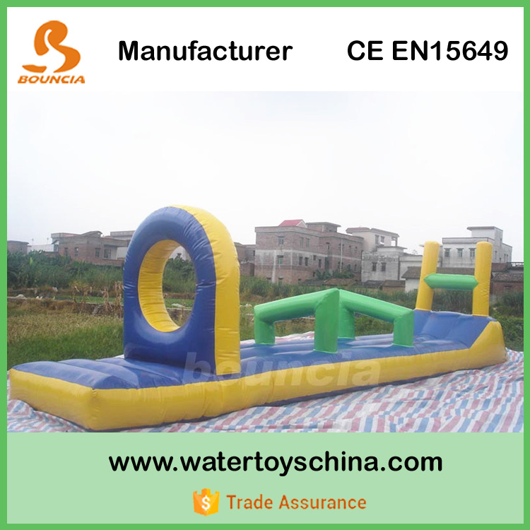 PVC Tarpaulin Inflatable Floating Water Obstacles For Pool Games
