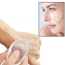 Silicone Gel Lady Face Foundation Makeup Puff Cosmetic Beauty Tool,Silicone sponge makeup