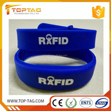 Passive RFID Adjustable Silicone Wristband Ntag213 Event NFC Bracelet