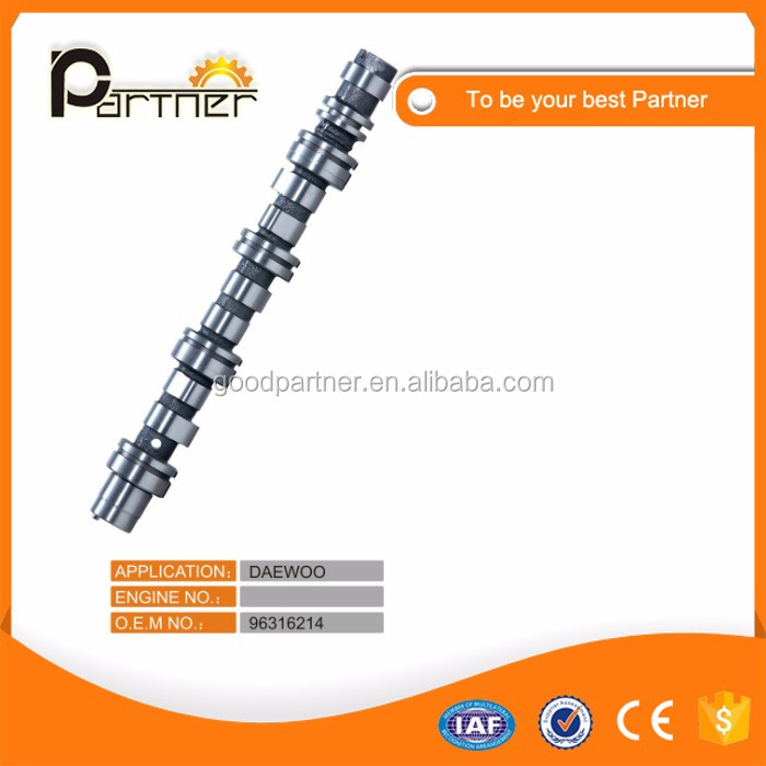 Diesel Engine Parts Custom Design Camshaft 96316214 for Daewoo Matiz ZA223