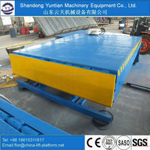 8T adjustable portable ramp hydraulic car lift ramps