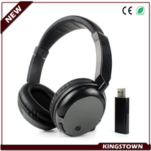 2016 Low Price Promotional Wireless TV Headphone 5 in 1 Headset Double Wireless TV Headphones Built-in FM Radio