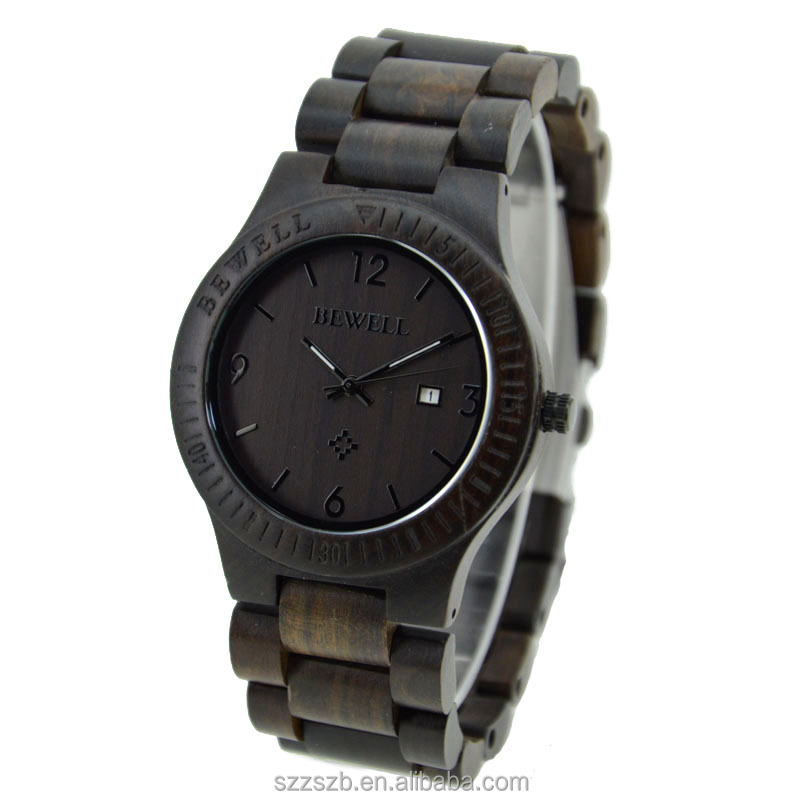 The Best Oak Wooden Watch Hot Sale New Sharp Watch