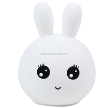 decorative Led night lamp colored cute Rabbit shape pat kid night lamp