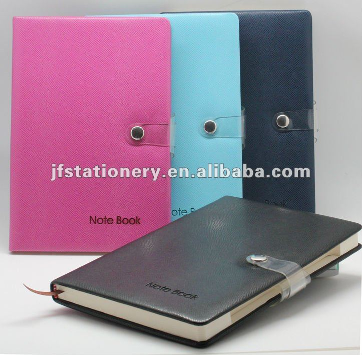 PU soft cover Notebook and agenda with index