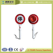 Online shopping china reflective traffic stop hand held stop signs