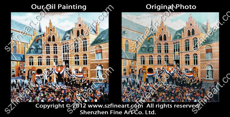 Best Price Famous party Oil Painting Reproduction factory direct sell
