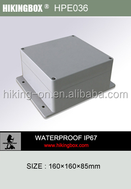 Hand held plastic enclosure/Wall mounted outdoor and waterproof enclosures HPE036