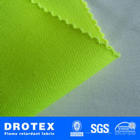 Modacrylic Cotton Fireproof Fabric For Workwear Supplier