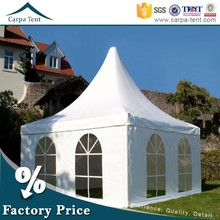 4mx4m,5mx5m Guangzhou Pagoda Tent Canopies With White Roof Wholesale