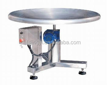 turnable rotary packing table made in china JY-T