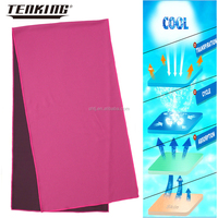 high quality wholesale jersey fabric sweat absorbent tennis ball cooling towel