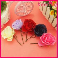 Fashion beautiful dress various cheap artificial flower wholesale