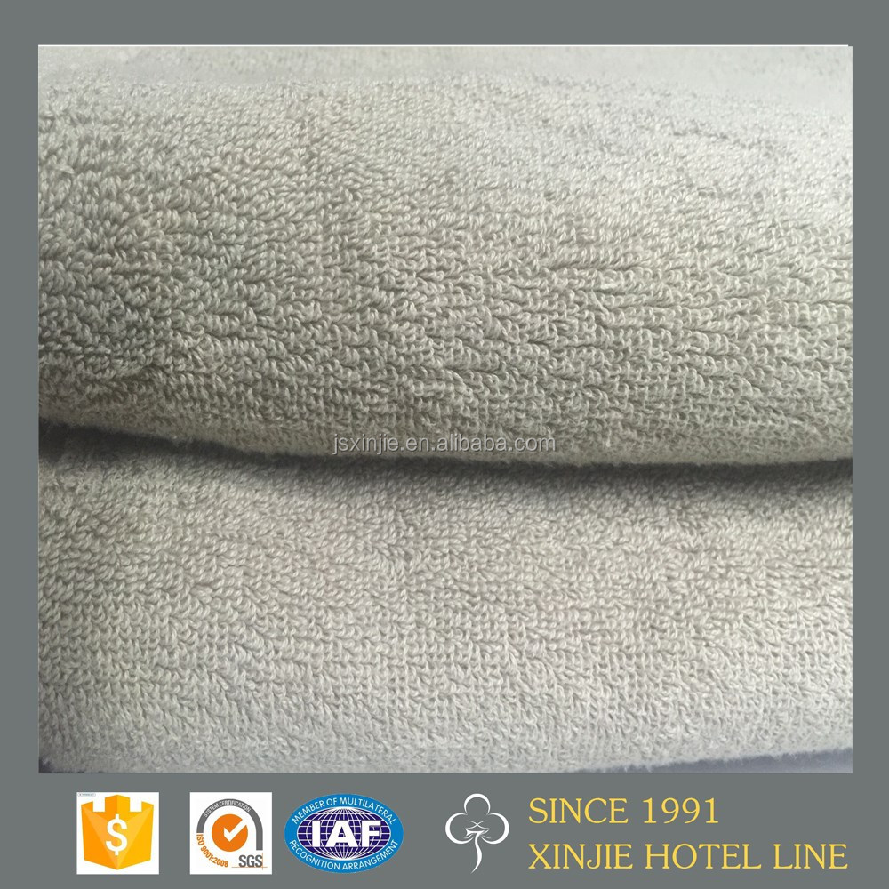 Jiangsu 100% cotton white hotel towel 500gsm from China