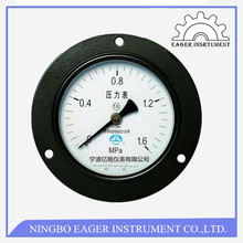General Black Steel Type Dual Air Pressure Gauge