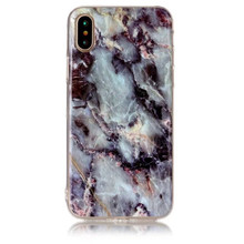Marble texture tpu material anti-drop imd cellphone case for iphoneX