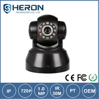 Top quality portable wireless pan tilt ip camera/home security remote rotate pan tilt ip camera/NTP full hd