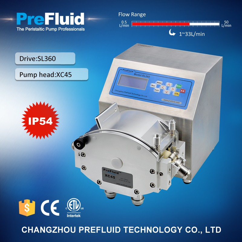 latest 110v ac peristaltic dosing pump with great price