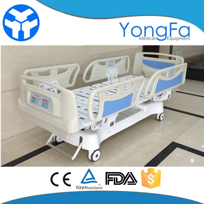 Electric Beds Motors : Yfd k function icu hospital electric bed with l