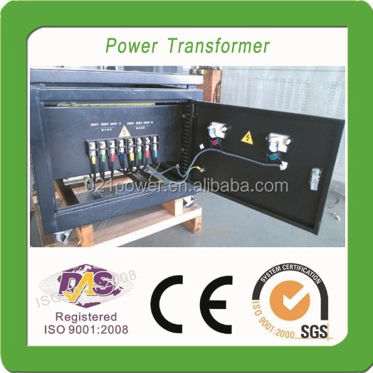 450kva three phase air cooled voltage transformer 600V to 380V