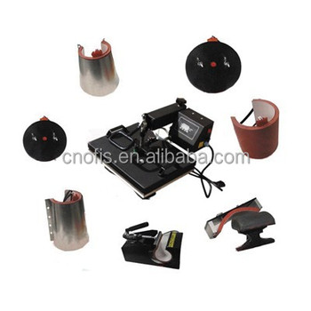 8in1 multifunction heat press machine