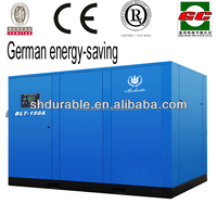 German energy-saving Bolaite 110kw 300 cfm air compressor from Shanghai factory