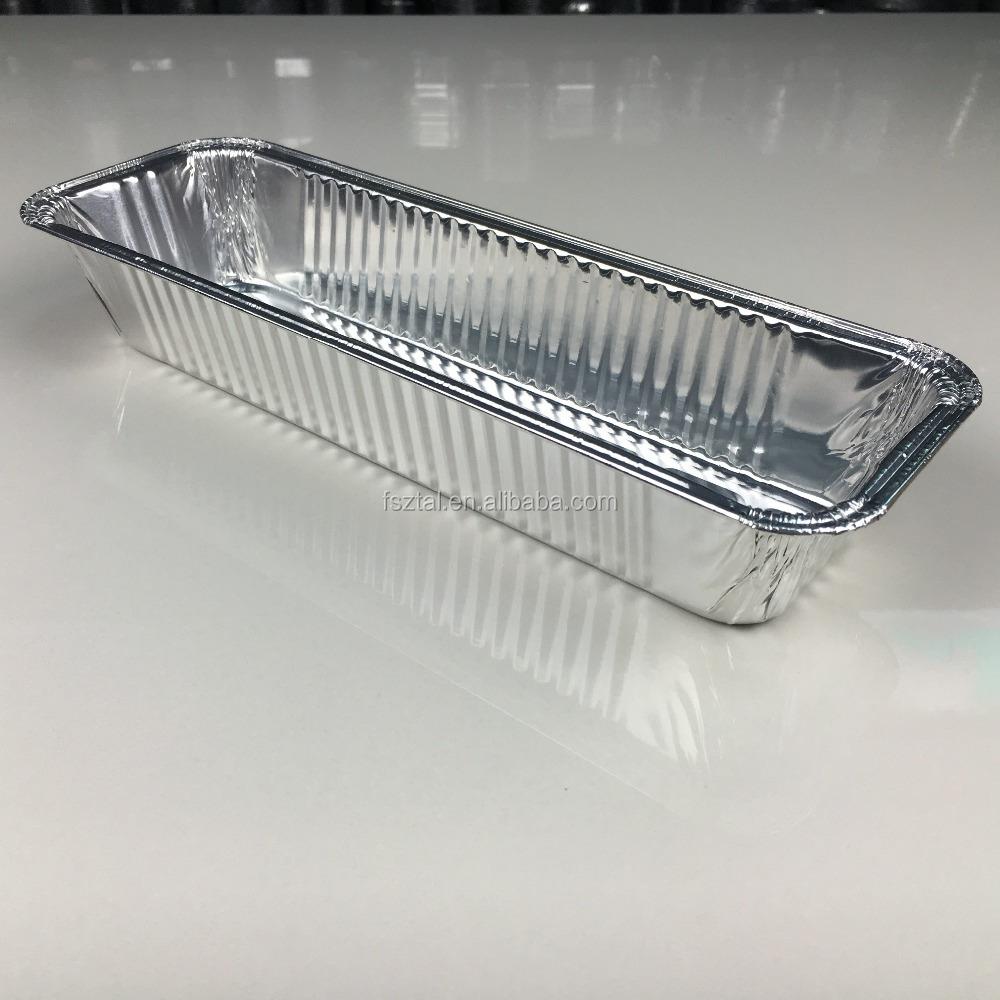"12"" 1000ml factory price disposable aluminum containers/loaf pan/baking pan"