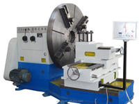 Heavy Duty CNC Facing Lathe For Swing Diameter 2200 Mm , Suitable For Large-Diameter Flange