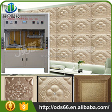 good quality leather wall tiles making machine