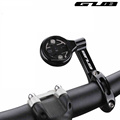 GUB 696 Telescopic Bike Bicycle Computer Mount For 31.8mm/25.4mm Handlebar Adjustable Compatible For GARMIN Bryton CATEYE Holder