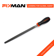 FIXMAN Steel Three Square File , Triangle Sides Hand Triangular Metal File Tool