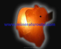 Himalayan Natural Crystal Rock Salt Fancy Stylish Hand Carved Animal Crafted Salt Lamps