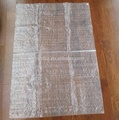 transparent PP Woven Sack / sheet of Factory Price