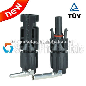 2016 high quality mc4 solar connector male and female solar cable connector manufacturer