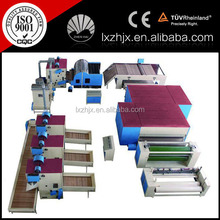 polyester fiber nonwoven stiff wadding line, hard wadding felt making machine